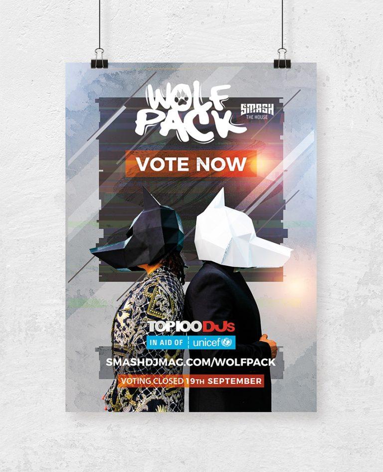 Flyer voor wolfpack