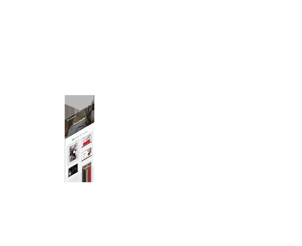 websites van klanten
